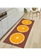 MarkaEv Kitchen 16 Mutfak Halısı Renkli